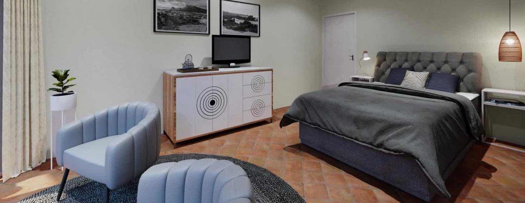 Bedroom Villa Marine